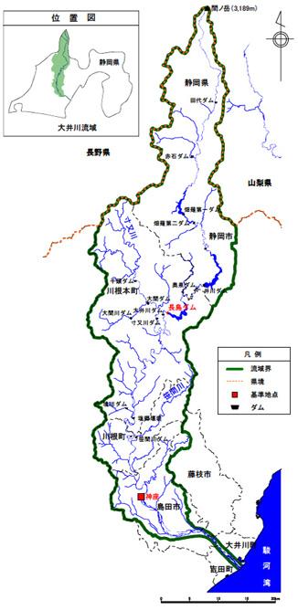 大井川水系